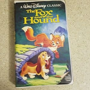 Walt Disney The Fox and the Hound vhs